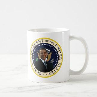 Taza De Café Sello presidencial de Obama
