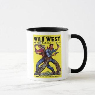 Taza de café semanal del oeste salvaje de