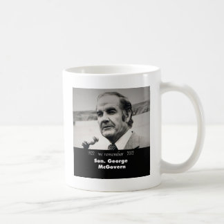 Taza De Café Senador George McGovern 1922-2012