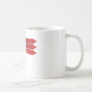 Taza De Café Señales de dirección