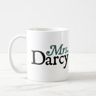 Taza De Café Señora Darcy Mug de Jane Austen