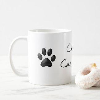 Taza De Café Señora loca Mug del gato