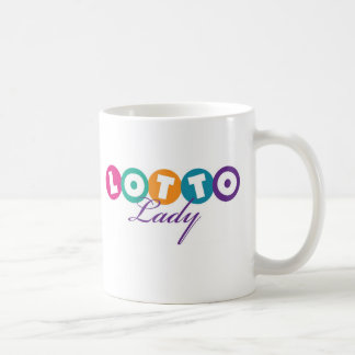 Taza De Café Señora Mug de la loteria