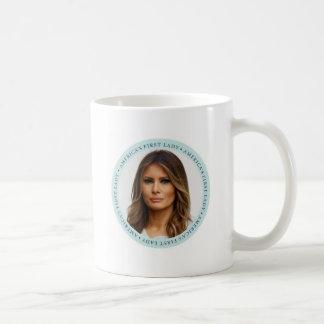 Taza De Café Señora Mug del TRIUNFO de Melania primera