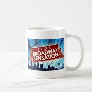 Taza De Café Sensación futura de Broadway