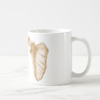 Taza De Café Sepia del omóplato