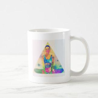Taza De Café Serie de la yoga del chica de Dharma