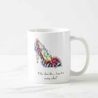 """Taza De Café """"Si la compra de los ajustes del zapato… él en"""