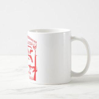 Taza De Café Si mi 2da enmienda le ofende licencia de la