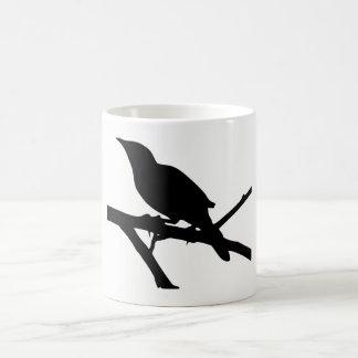 Taza De Café Silueta del Mockingbird