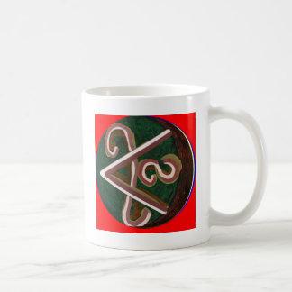 Taza De Café Símbolo de SHANTI: para los amantes de la paz