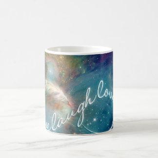 Taza De Café Símbolo impresionante del infinito del amor de la