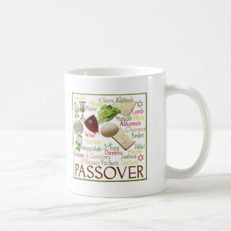 Taza De Café Símbolos del Passover