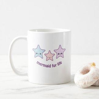 Taza De Café Sirena para la vida