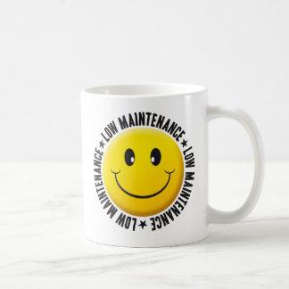 Taza De Café Smiley bajo del mantenimiento