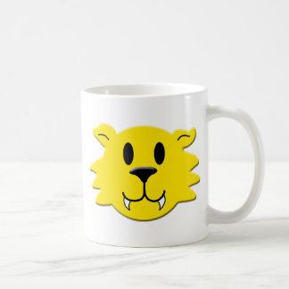 Taza De Café Smiley del hombre lobo