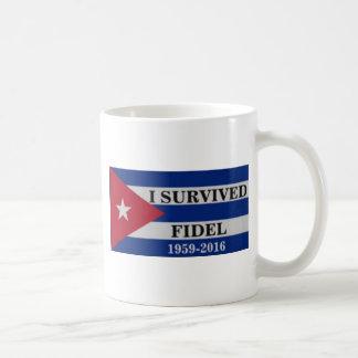 Taza De Café Sobreviví a Fidel
