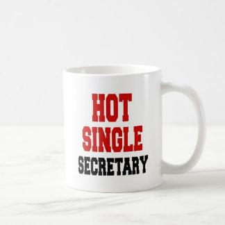 Taza De Café Sola secretaria caliente