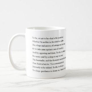 Taza De Café Soliloquio de Hamlet