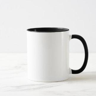 Taza de café solitaria del jinete