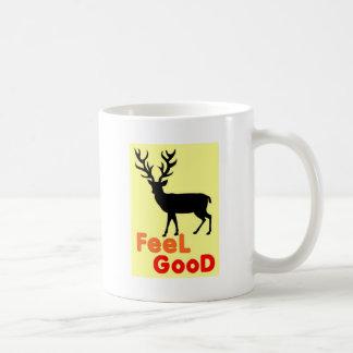 Taza De Café Sombra de los ciervos del sentir bien