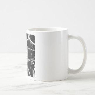 Taza De Café sombras de alambres