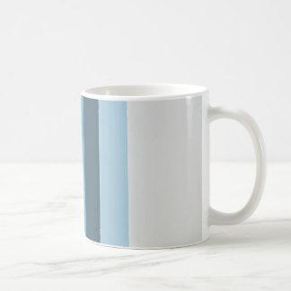 Taza De Café Sombras del verano del azul