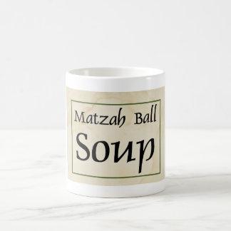 Taza De Café Sopa de la bola del Matzah