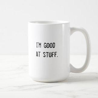 Taza De Café Soy bueno en la materia