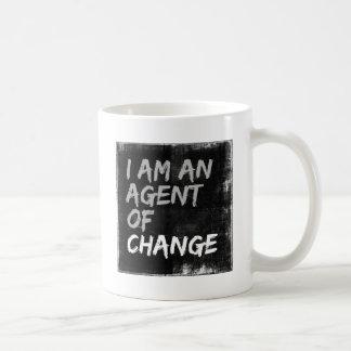 Taza De Café Soy un agente del cambio