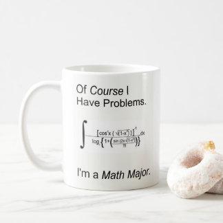 Taza De Café Soy un comandante de matemáticas