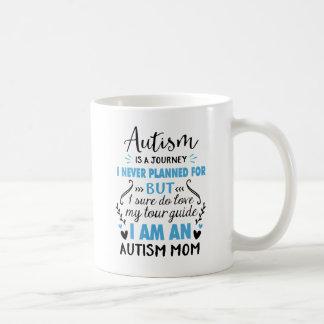 Taza De Café Soy una mamá del autismo