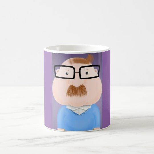 Taza De Café Sr. Mustache