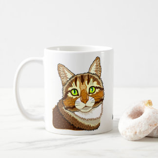 Taza De Café Srta. Puddy Pat Cat Mug