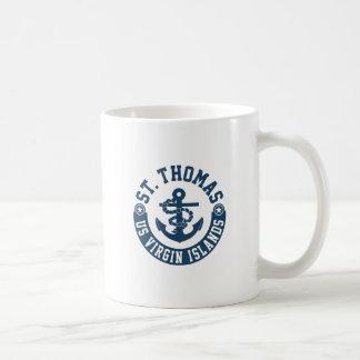 Taza De Café St Thomas los E.E.U.U. Islas Vírgenes