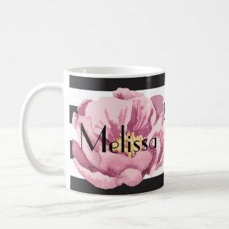Taza De Café Su amapola rosada conocida