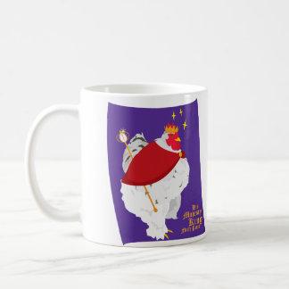 Taza De Café Su rey Fluffy Pants de la majestad