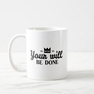 Taza De Café Su será hecho