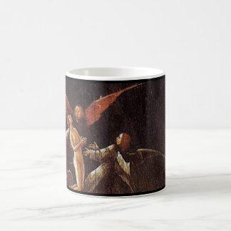 Taza De Café Subida de la haber bendecido, por Hieronymus Bosch