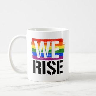 Taza De Café Subimos - orgullo de LGBTQ -- - Las derechas de