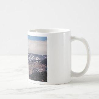 Taza De Café Sueño de la cuesta del esquí