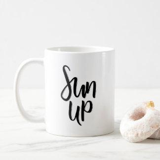 Taza De Café Sun para arriba
