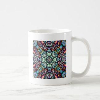 Taza De Café Superficies de textura de la simetría