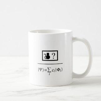 Taza De Café Superposición de Quantum