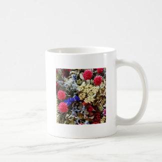 Taza De Café Surtido de flores secadas