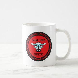 Taza De Café swag de la ESPECIA del empollón de la manada