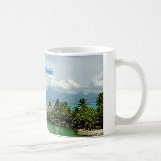 Taza De Café Tahití hermosa