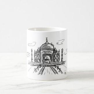 Taza De Café Taj Mahal