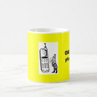 Taza De Café ¡Talking_on_Cell_Phone_1, OH!  ¡Conseguí una