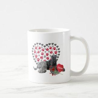Taza De Café Tarjeta del día de San Valentín azul de Kerry para